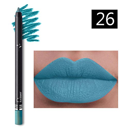 Huihong Pudaier 26 farben professionelle wasserdicht lipliner make-up lip liner bleistift (26#)