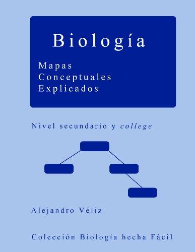 Biología. Mapas Conceptuales Explicados por Alejandro Véliz Jélvez