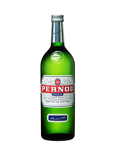 Pernod – Edler Kräuterlikör mit Sternanis und erfrischendem Kräuteraroma – Spirituose mit universeller Mixbarkeit – 1 x 1 L