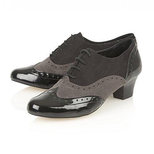 Lotus SHEREE da donna, in microfibra, colore: nero/multicolore, Lotus scarpe e stivali (Black & Multi)