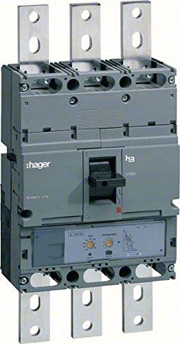 HAGER H1000 - INTERRUPTOR AUTOMATICO 4P4R 70KA 1000A LSI