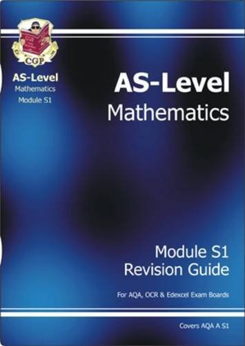 AS-Level Maths Revision Guide S1: Revision Guide S1 for sale  Delivered anywhere in UK