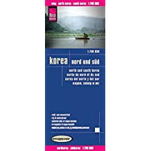 Reise Know-How Landkarte Korea, Nord und Süd (1:700.000): world mapping project