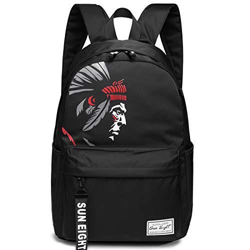 Schulrucksack, schlanke College-Laptoptasche, lässiger Unisex-Reiserucksack für Outdoor, Camping, Wasserabweisende Computertasche -