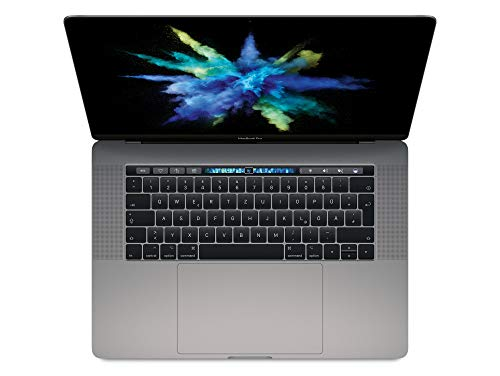 """Apple MacBook Pro, 15"""" mit Touchbar, Intel Quad-Core i7 2,9 GHz, 512 GB SSD, 16 GB RAM, 2017, Space Grau"""
