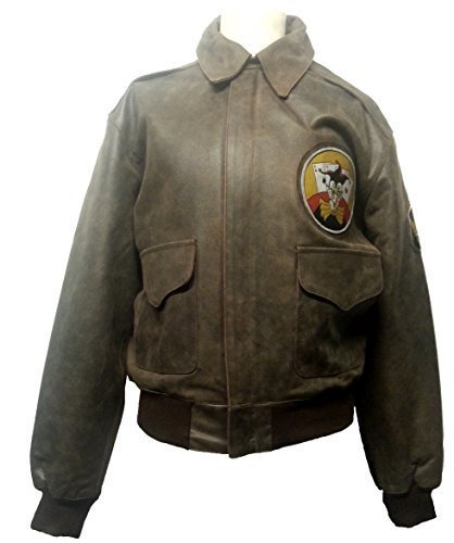 NOBLE HOUSE Fliegerjacke A-2 Bad Egg Nose Art