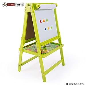 homestyle4u kindertafel maltafel magnettafel standtafel. Black Bedroom Furniture Sets. Home Design Ideas