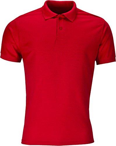 Elegant Vaps Herren Poloshirt Rot