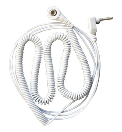 Earthing and Grounding Cable Accessories (20 ft coiled cable) by Original Earthing Coiled-adapter