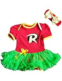 Robin-Inspired Infant Tutu Dress