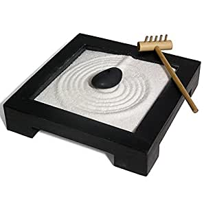 miniature zen garden set kitchen home. Black Bedroom Furniture Sets. Home Design Ideas
