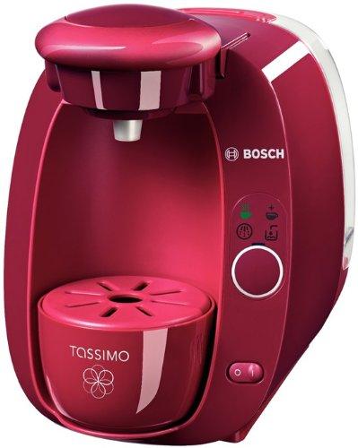 Bosch TAS2007 Tassimo T20 Amia Multi-Getränke-Automat, Bright Fuchsia