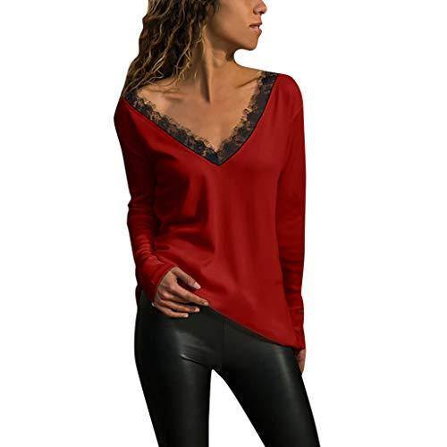 Luckycat Camiseta Las Mujeres Otoño Invierno Color