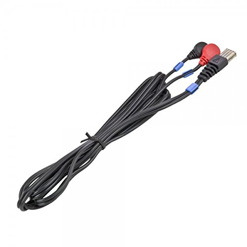 COMPEX EMS   CABLE PARA ELECTRODOS 8 PINS SNAP  COLOR NEGRO/AZUL CO2 601034