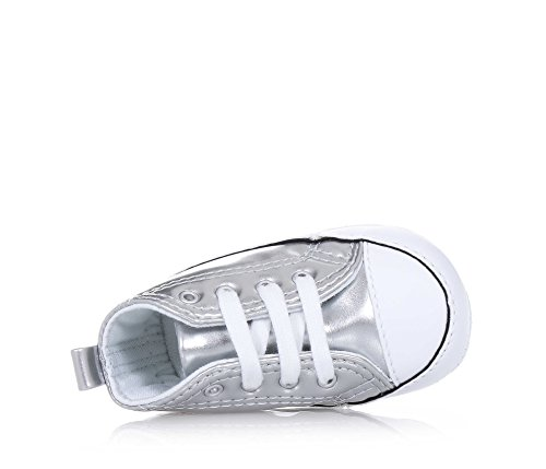 CONVERSE Turnschuhe hohe Wiege 855122C CTAS FIRST STAR HALLO Argento