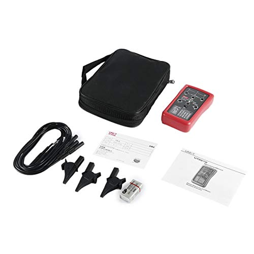 UNI-T Dreiphasen-Sequenz- und Motordrehzahlanzeige Digitalmultimeter Magnetfeldumkehr-LED-Drehtester JBP-X -