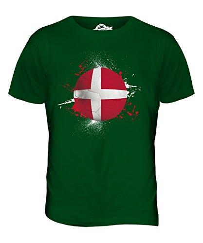 CandyMix Dänemark Fußball Herren T Shirt Flaschengrün