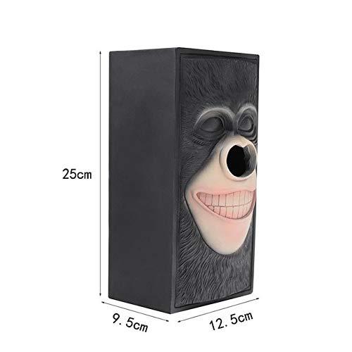 Innovative Aufbewahrungsbox Pumping Monkey Easter Stone Portrait Tissue Tray Organizer Tissue Box...