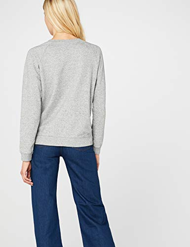 Levi's Damen Sweatshirt Relaxed Graphic Crew/Fleece Batwing Smokestack Htr 0, grau, Small - 6