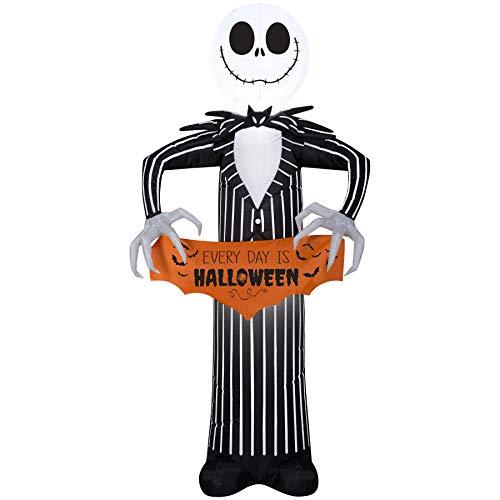 Gemmy Inflatables - Airblown Inflatable Aufblasbare Halloween-Dekoration, Motiv Jack