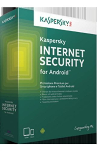 Kaspersky Lab Internet Security for Android - Seguridad y antivirus (Electronic Software Download (ESD), Full license, Android 2.3, Android 3.0, Android 3.1, Android 3.2, Android 4.0, Android 4.1, Android 4.2, Android 4, HVGA, ITA,