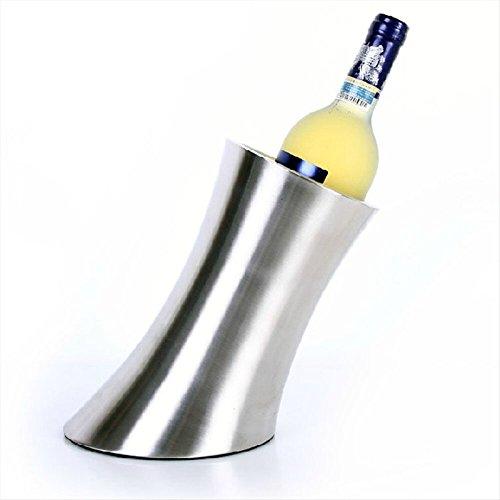 FTC Ice Bucket Doppel-Edelstahl Eiskübel EIS Weinfass Bier Fass Spieß Fass Eiskübel Fass Isolierung Fass schrägen Eiskübel