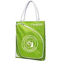 LIOOBO Tennisschläger Taschen tragbare Sport Fitnessstudio große einfache Tasche Tragetaschen Badminton Schläger Tasche Aufbewahrungstasche mit Reißverschluss für Frau Mann