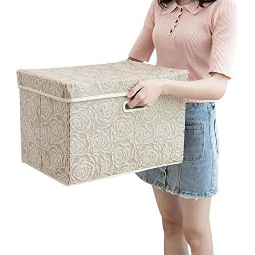 Kofferraum Organizer Cube (Terilizi Faltbare Kleidung Aufbewahrungsbox Aufbewahrungsbox Abdeckung Stoff Dekorative Cube Organizer Hause Schlafzimmer Schrank 38 X 25 X 25 cm)