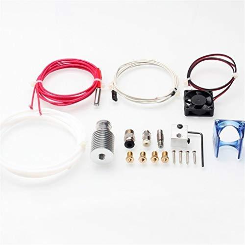 Hochdruckreiniger Hot End Kit 3D Drucker J-Kopf Hotend Mit Lüfter Aluminium Kühlkörper Edelstahl Düse Ersatzteile Für 3D Drucker zur Kanalreinigung -