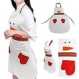 Weihnachtsschutzblech, Yuan Waterproof Apron Küchenschürze Christmas Dinner Party Schürze Dekoration