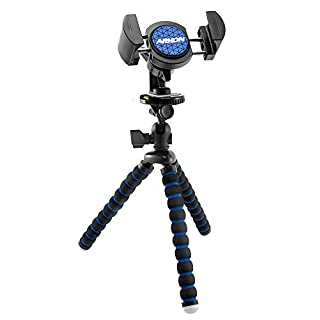 Arkon 11 inch Tripod Mount with Phone Holder for Live Mobile Streaming