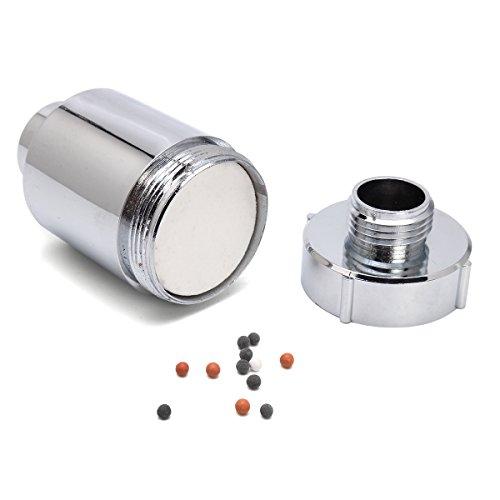 CER0T Purificador del filtro de agua del grifo En Línea cabeza de ducha Suavizante Filtración eliminar...