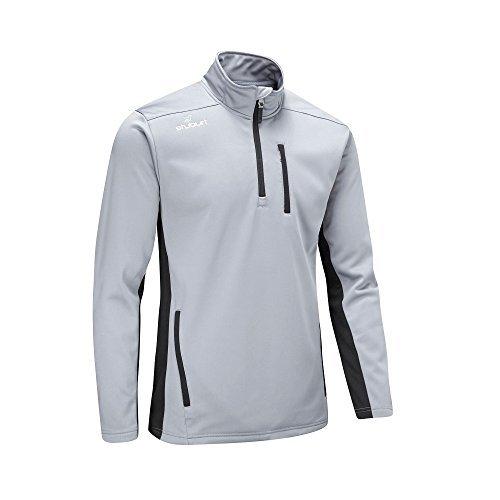 Stuburt 2017 Mens Endurance Sport Half Zip Fleece Pullover – Storm – L
