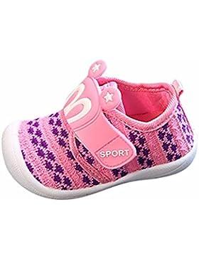 OYSOHE Kleinkind Kinder Kinder Baby Cartoon Star Hasenohren quietschende Einzelne Schuhe Sneaker