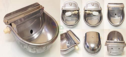 ZooPiro - Abbeveratoio per cani automatico in Acciaio Inox con Scarico