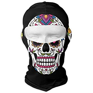 Sugar Skull 342 Winter Cycling Full Face Mask Dust Protection Balaclava Hood for Men and Women