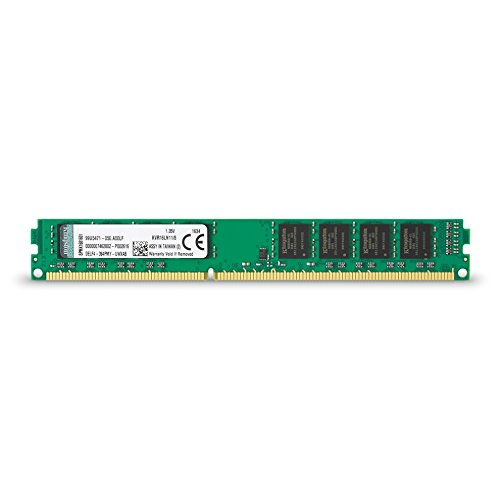Kingston KVR16LN11/8 Memoria RAM da 8 GB, 1600 MHz, DDR3L, Non-ECC CL11 DIMM, 1.35 V, 240-pin