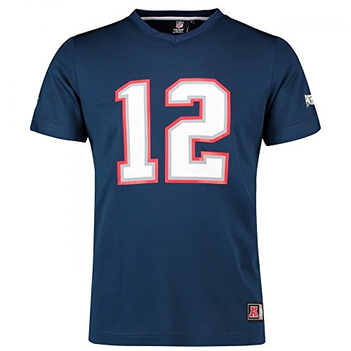 Shirt - New England Patriots #12 Brady (Superbowl Patriots T-shirts)