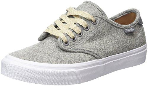 Vans Women's Camden Deluxe Low-Top Sneakers, Grey (Heather Felt Gray), 2.5 UK Vans Women's Camden Deluxe Low-Top Sneakers, Grey (Heather Felt Gray), 2.5 UK 41PJ5Kl67xL