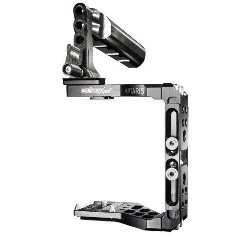 Walimex Pro Aptaris Universal XL Cage/Rig-System für DSLR Kamera/Systemkamera (Canon 5D MK III, 650D, Nikon D800, D7100, Panasonic Lumix GH4, u.v.m.)