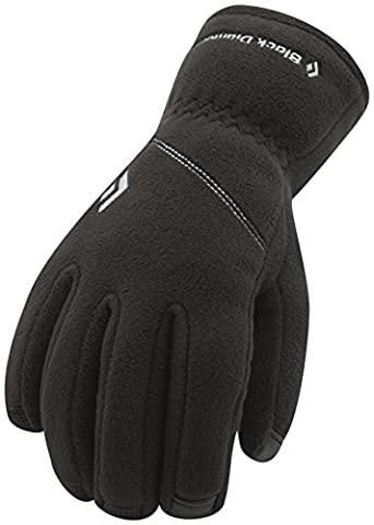 BLACK DIAMOND WindWeight Liner Gloves, Black, M