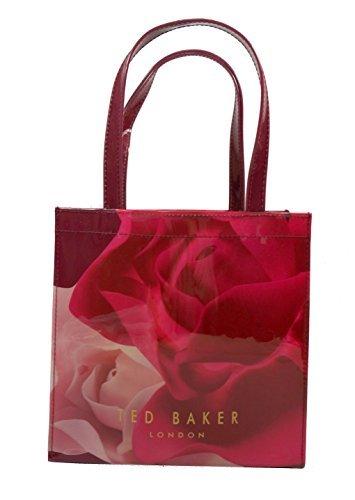 Ted Baker nealcon Porzellan Rose klein Symbol Tragetasche Maroon (Maroon Damen Handtasche)