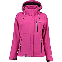Geographical Norway TEHOUDA Lady ASSORT A Chaqueta Deportiva, Rosa Flashy Pink, Small para Mujer