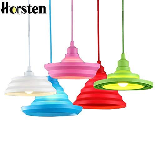 U-Enjoy Lustre Lampe Moderne Nordique Nouveauté Pendentif Top Qualité Pendan Lumières Colorées Les Luminaires À Tubes De Silicone Bar Cuisine Chambre E27 Art Lamp Livraison Gratuite [Violet]