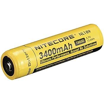 NiteCore Akku 3400 Mah NL 189, NC-18650/34