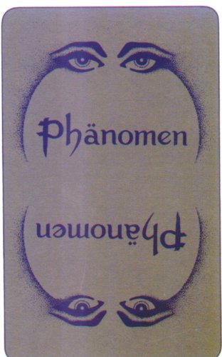 Wahrsage Kartenspiel - Phänomen: Mit aufgedruckten Bedeutungen, entwickelt aus der traditionellen Wahrsagekunst mit Skatkarten.