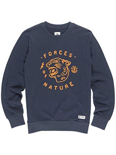 Herren Sweater Element Forces Sweater eclispe navy