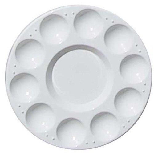 toogoor-10-bonne-ronde-professionnelle-forte-legere-plastique-palette-de-peinture-plateau-blanc