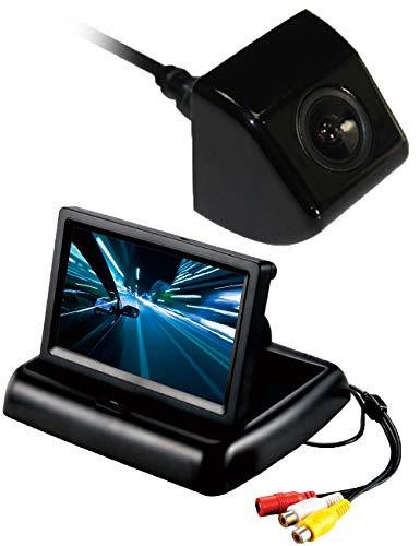 """weltweite Auto - Heck - Kamera + 4,3""""hd LCD - Monitor, Wasserdichte nachtsicht hd - 170 ° Viewing Auto rückwärts - Backup Kamera für universelle Auto Fahrzeug - Van Heavy - Duty - Bus"""