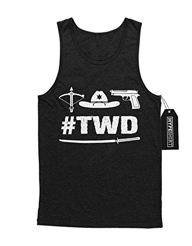 Tank-Top The Walking Dead #TWD Symbols C980035 Schwarz